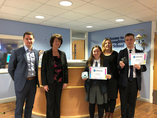 Renz supplies Print iT prize for Westhoughton High winners