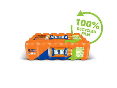 Irn-Bru announces new 100% recycled wrap