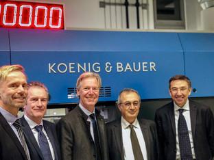 Koenig & Bauer extends shareholding in Duran Machinery