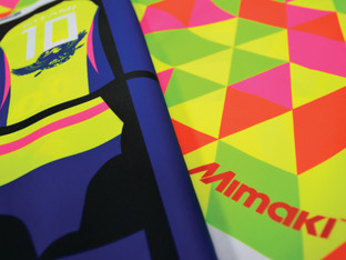 Eye catching fluorescent inks for new Mimaki TS30-1300