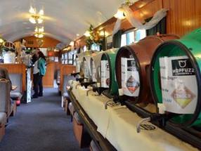 Spring Diesel and Beer Weekend at the Spa Valley Railway in Royal Tunbridge Wells