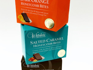 Qualvis produces bold new look for Whitakers Chocolates