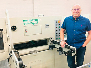 Postpress expansion at Pureprint