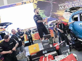 Ivan Tenchev takes world wrap masters 2018 title at Fespa