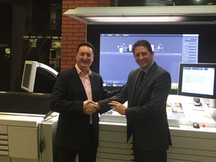 Hampton Printing signs first Heidelberg subscription partnership in the UK