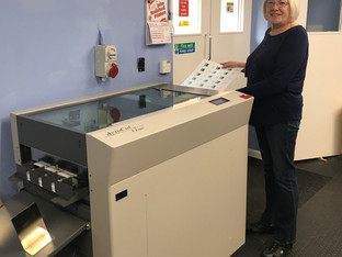 John Brailsford Printers installs new Uchida  AeroCut One for faster, automated production