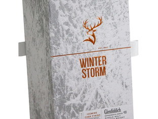 Presentation box is a winter storm