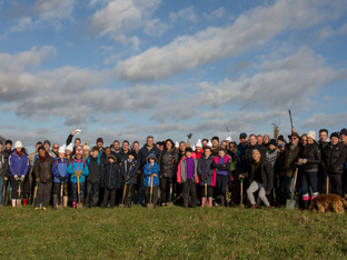 Premier plants more trees at Heartwood Forest