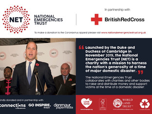Connections, Denmaur Paper Media and Go Inspire partner with the National Emergencies Trust