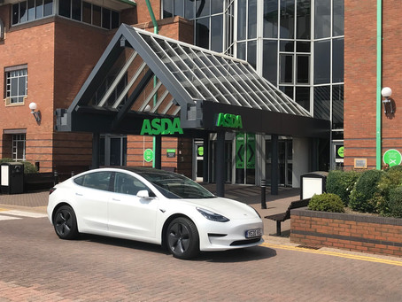Asda takes the lead with move to electric company car fleet
