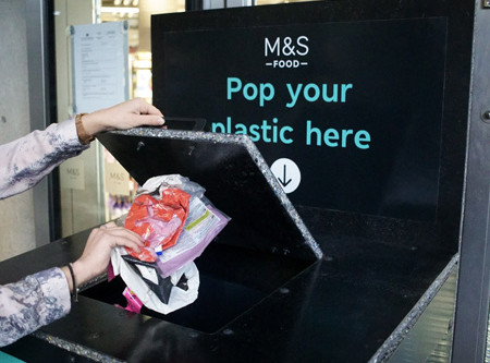 M&S to turn plastic into playground equipment with new plastic take back scheme