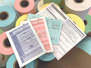 Business forms printer keeps presses turning for frontline services
