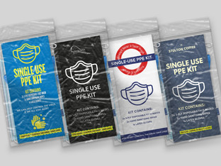 Single use PPE kits perfect for people on the go