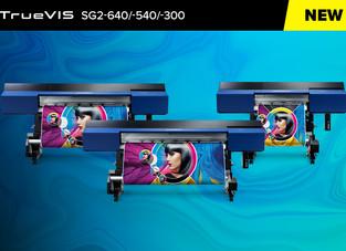 Roland DG expands TrueVIS line up with new SG2 Series