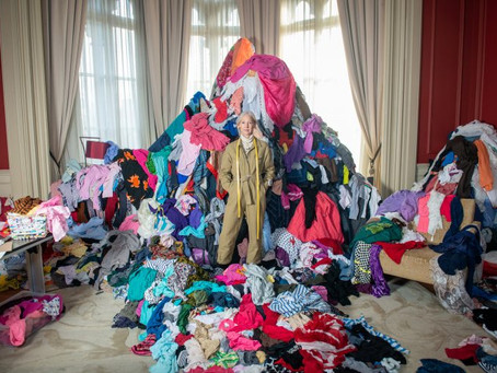This is the colossal amount of clothing thrown away every five minutes in the UK