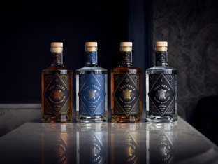 The Label Makers convey stylish look for start up rum brand