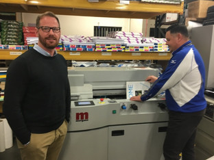 Fife Print & Sign Centre adds PUR binding