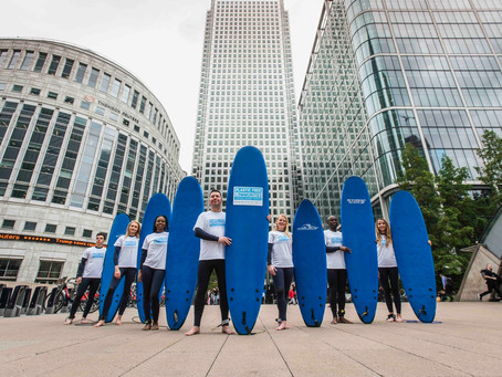 Canary Wharf is the world's first commercial centre to be awarded 'Plastic Free Communities Status'
