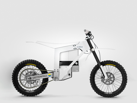Vattenfall and Cake join forces to develop the first fossil free motorcycle