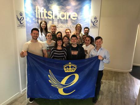 Liftshare wins Queen's Award for Enterprise