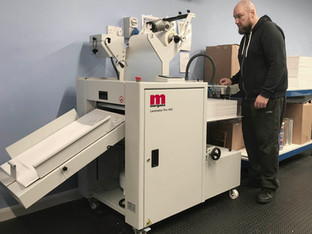 John Brailsford Printers adds Laminator Pro 450