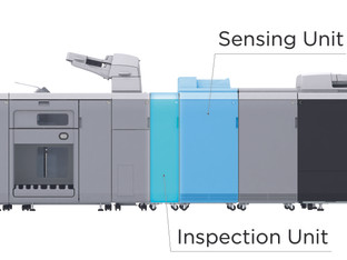 New automation options for imagePress C10010VP offer advanced quality control and precise inspection