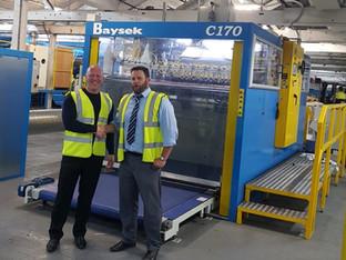 New Baysek C-170 for Preston Board & Packaging