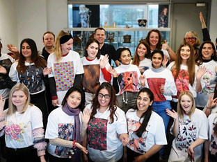 Epson invites textile design students to get hands-on in colour workshop at Birmingham City Universi