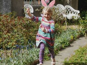 Easter bunny hunt at Chiddingstone Castle