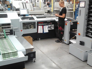 IFS supplied system supports fast and efficient print on-demand service