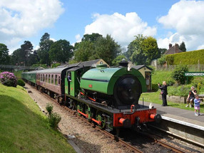 'Kids for a Quid' at the Spa Valley Railway in April