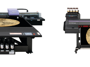 Hybrid includes free Mimaki UV roll to roll printer/cutter with JFX200 flatbed