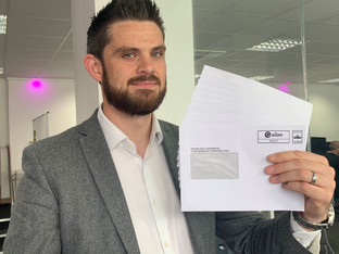 Recyclable and biodegradable window envelopes stop 30 tonnes of plastic waste at Adare SEC