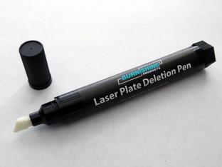 Burnishine announces new deletion pen for polyester laser plates