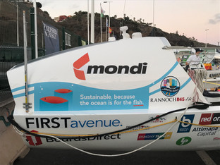 Mondi sponsors Bristol Gulls' row across the Atlantic to raise awareness for plastic pollution