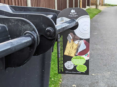 Creative campaign encourages residents to recycle aluminium foil