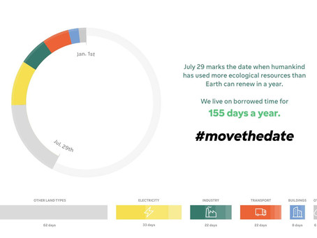 Global overshoot day is here earlier than ever – how can we move the date?