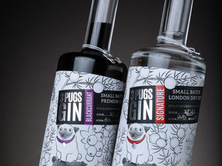 The Label Makers creates new look label for 3 Pugs Gin