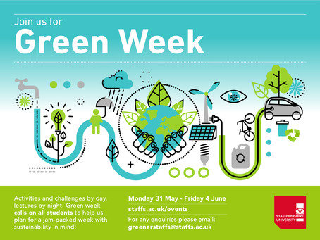 Celebrate Green Week with Staffordshire University!