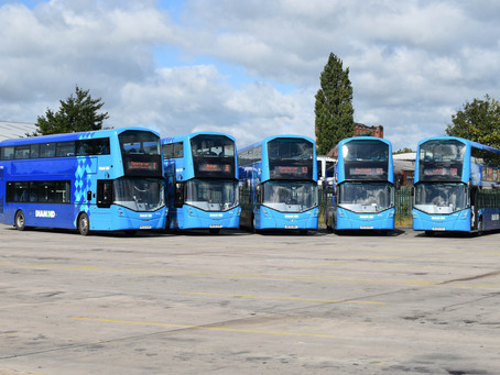 Rotala on the road to success with new environmentally friendly bus fleet