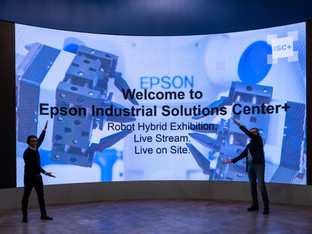 Epson opens  virtual Industrial Solutions Centre for European customers and partners
