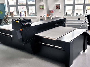 Azon Matrix R industrial platform now with Ricoh Gen5 printheads for more productivity