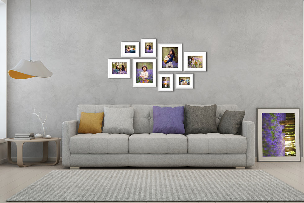 living-room-with-eight-piece-photo-framed-wall-gallery