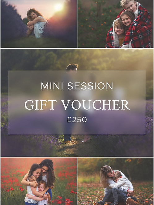 Mini Session Gift Voucher