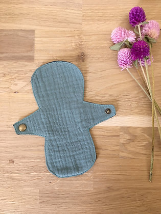 Protège-slip lavable anatomique en lin et double gaze | coloris au choix