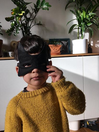 Masque de super-héros pour filles et garçons  | coloris au choix