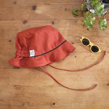 Chapeau pour le soleil | Orange sanguine