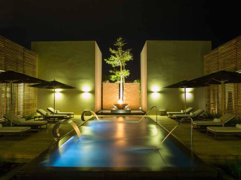 VITALITY POOL WITH HYDRO-MASSAGE