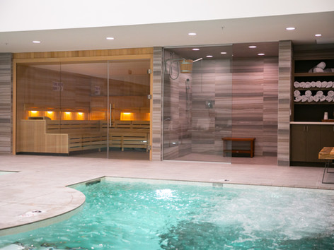 22,000-SQUARE-FOOT SPA FEATURING AQUA VITALITY CIRCUIT