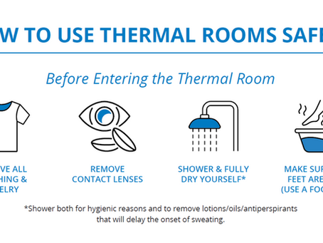 How to Use Thermal Rooms Safely